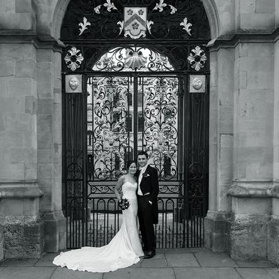 B&W Oxford Wedding Photography